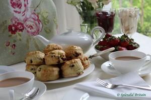 Cream Tea mit Scones
