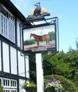 The Chestnut Horse – ein Pub im englischen Country