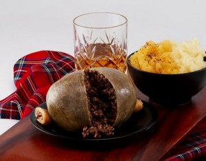 "Keine Burns Night ohne ""Address to a Haggis"""