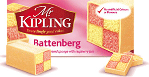 Süss und schrill – der Battenberg Cake