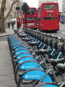 Mit dem Rad in London unterwegs – Barclays Cycle Hire