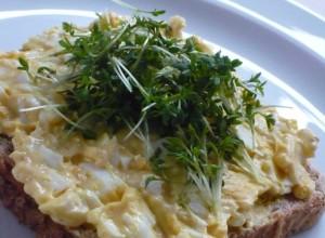 Das Eier-Kresse Sandwich (Egg + Cress Sandwich)