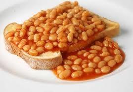 Typisch british – Beans on toast