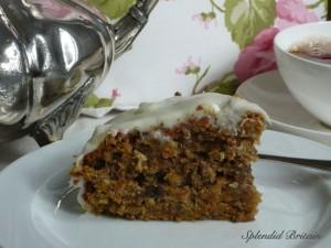 Karotten und Walnuss Kuchen