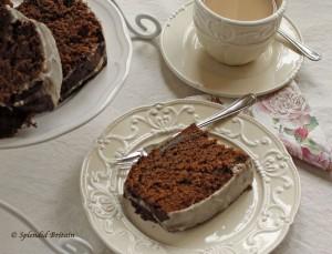 Ginger Cake mit Orangenzuckerguss (Ingwerkuchen)