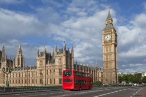 Die 50 berühmtesten Wahrzeichen von Grossbritannien.