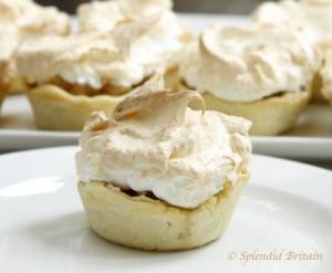 Mini Apple Meringue Pies