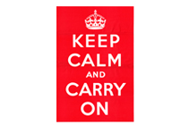 "Die ""Keep Calm and Carry On"" Story"