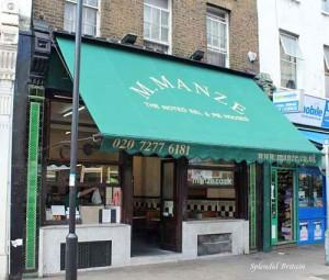 Pie & Mash / M.Manze – das etwas andere Restaurant