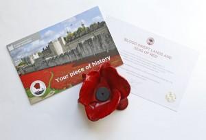 Angekommen: Unsere Keramik Mohnblume / Tower of London
