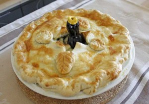 Englischer Chicken and Mushroom Pie – Rezept