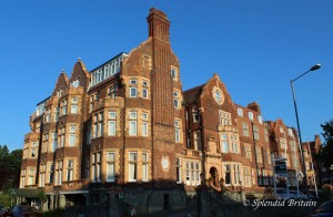 Burlington Hotel in Folkestone / Kent