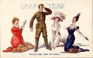 Leap Year Proposal – am 29. Februar darf die Frau …
