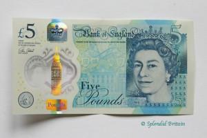 Nicht vergessen – Ablauf der alten Fünf-Pfund-Noten: 05. Mai 2017